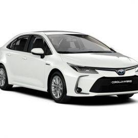 Corolla Sedan Hybrid Active - Vloeiend en elegant design